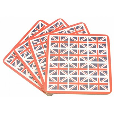 Union Jack Coaster Set