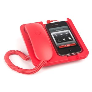 Pronto Phone Holder / Speaker-Red