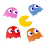 Pac-Man Coasters