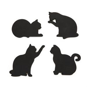 Magnetic Cat Coasters