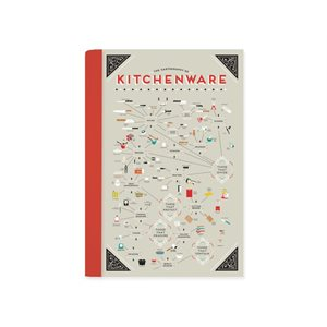 Carnet Pop Chart Journal - Cuisine