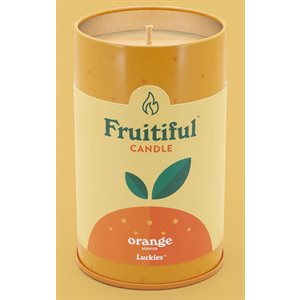 Bougie Fruitiful-Orange