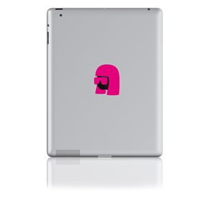 Sticker pour ipad--Queen of Pop