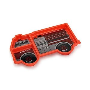Me Time Fire Engine Plate