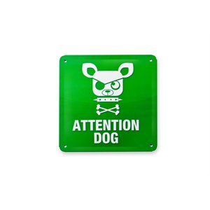 Tin Plate Sign-Dog