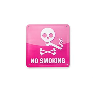 Tin Plate Sign-No Smoking