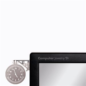 Computer Jewelry-Clock