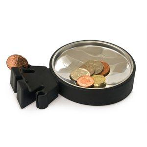 Big Head Coin Dish-Black