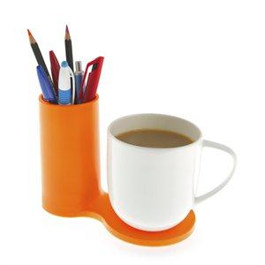 Jot Desk Coaster-Orange
