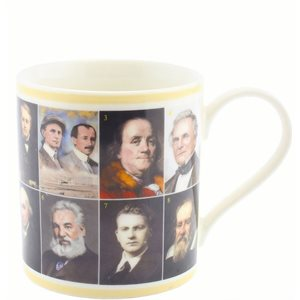 Famous Inventors in history mug