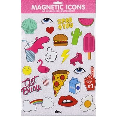 Magnetic Icons Pink