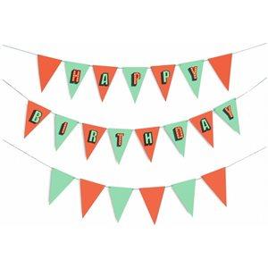 Drapeaux party d'anniversaire
