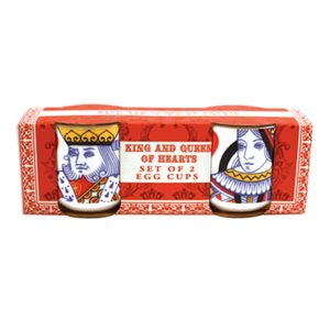 King and Queen of Hearts Egg Cup